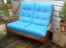 Two Seater Vintage 1950's / 1960's Sofa