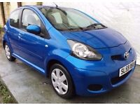 59 REG Toyota Aygo 1.0 VVT-i + 5dr/ROAD TAX ONLY £20 YEAR/LOW INSURANCE GROUP 1/HPI CLEAR