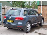 2004 Volkswagen Touareg SPORT Tdi Pd Auto 4x4 FAMILY CAR SAT NAV DIESEL