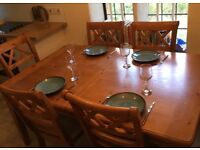 Solid Wood Dining Table 6-8 seater.