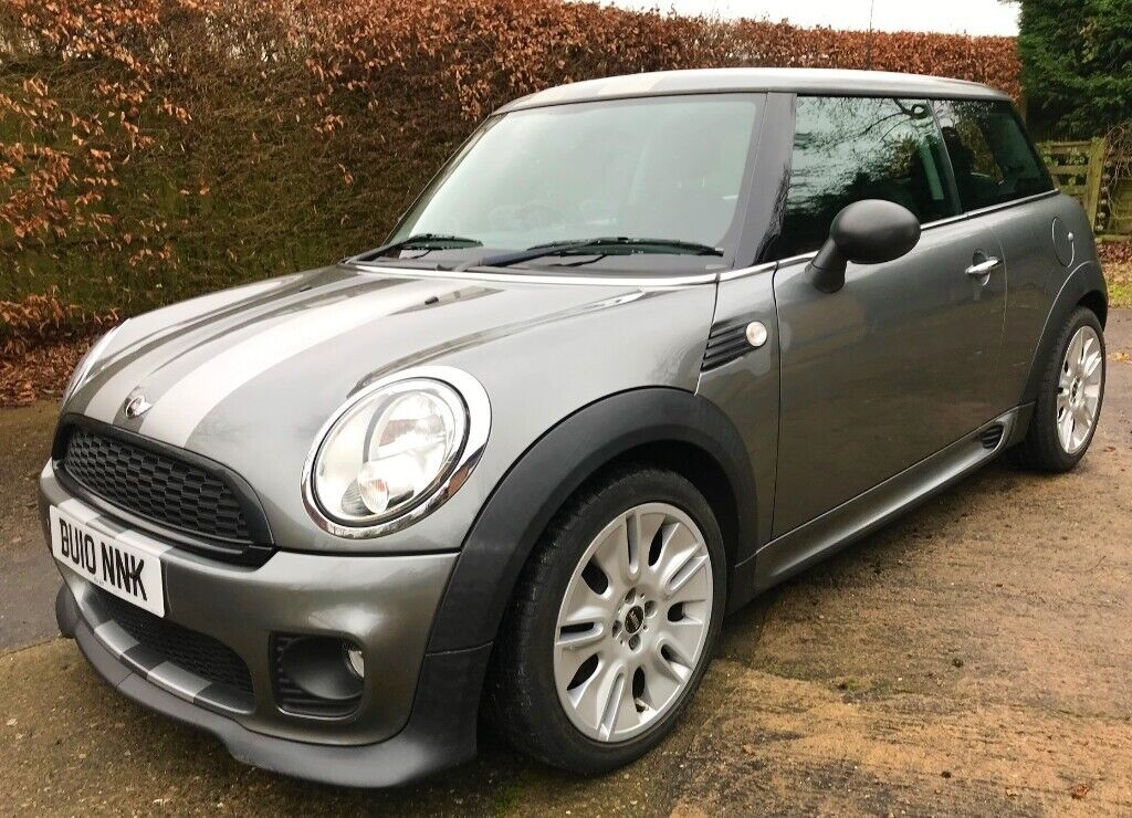 Mini One Graphite Special Edition With John Cooper Body Kit In