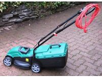 Qualcast M2E1232M 1200W 32cm Electric Lawnmower 12 Months Old