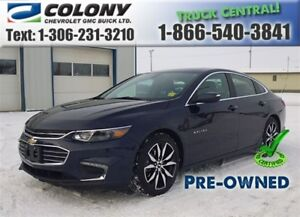 2017 Chevrolet Malibu 1LT, Leather, Sunroof, Navigation
