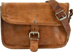 Gusti Leather Crossbody Handbag Shoulder Bag Vintage Small Brown Leisure H19