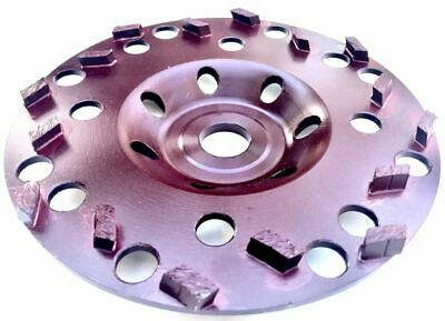 6 Diamond Cup Wheel With 19mm Arbor Fits Hilti Dg150 For Epoxy Coating Removal