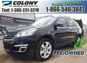 2016 Chevrolet Traverse 1LT AWD, Heated Front Seats, Sunroof