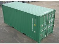 20 foot Storage Containers for rent, in a secure yard. Caerleon Area suit most trades