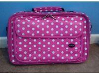 Pink Spotty Laptop Bag