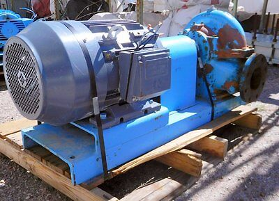 25 Horsepower 667 Gpm 100 Foot Tdh Paco Pc29 Split Case Water Pump Irrigation