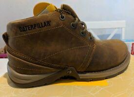Caterpillar Mens Boots UK Size 7 Brand New