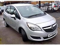 VAUXHALL MERIVA 1.7 S AC CDTI 5d AUTO 108 BHP Apply for finance On (silver) 2014