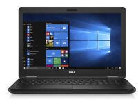 Dell Latitude 5580, Intel i5 7th Gen, 8GB RAM, 256 GB SSD, 15.6 Inch Full HD, 2017 EDITION