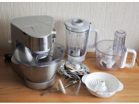 Kenwood Mixer and Attachments