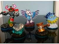 Skylanders Swap Force characters x3 plus 2 game items. All for PS3. £6 the lot.