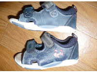 Bundle of H&M and Clarks Boy's First Shoes and Sandals size 4G and 4H (20-21). Very good condition.