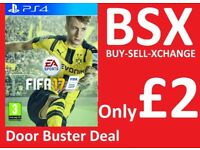 Fifa 17 on PS4 Only £2 Now Thats a BSX Door Buster Deal Only £2 Cyber Week Sale