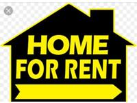 2 bed house wanted asap!!