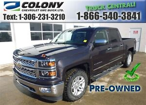 2014 Chevrolet Silverado 1500 5.8 Box, LTZ Crew Cab, Leather, Na