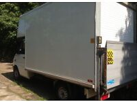 Easy removal, van and man hire from £25 P/H. Removal and delivery services.