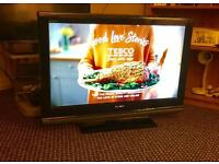 "32"" SONY LCD TV FREEVIEW CAN DELIVER."