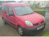 Wheelchair accessible Renault Kangoo Authentique DCi68
