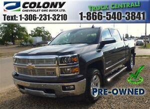2015 Chevrolet Silverado 1500 5'8 Box, LTZ Crew Cab, Heated Seat
