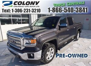 2014 GMC Sierra 1500 5.8 Box, SLT Crew Cab, Navigation, PST PAID