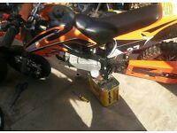 Midi Dirt Bike Mini Moto 49cc Not Pitbike