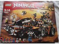 BNIB Lego Ninjago Dieselnaut 70654 (1179 Pieces)