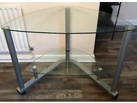 Glass desk/table
