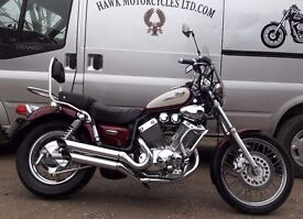 DEPOSIT RECEIVED OUTSTANDING CONDITION 1999 YAMAHA XVS535 DX VIRAGO WITH LOW MILEAGE