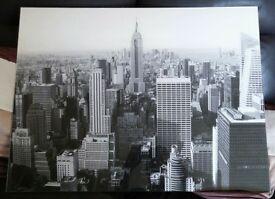 New York Acrylic wall picture - Stunning 80cm x 60cm