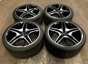 19 Staggered AMG Replica Wheels 5x112 and Staggered Tires (Mercedes Cars) Calgary Alberta Preview
