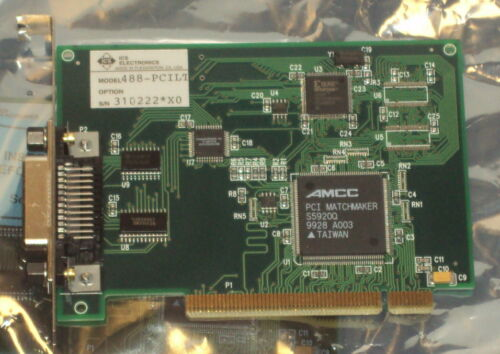 NEW ICS GPIB 488-PCILT ICS GPIB PCI Card, sealed