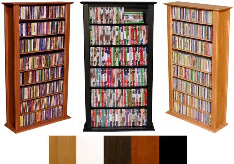 464 CD 234 DVD Tower DVD CD Storage Rack Shelf 5 colors