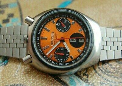 Men's 1970s Citizen Bull Head Chronograph Watch .