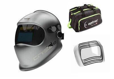 Optrel Crystal 2.0 1006.900 Welding Helmet Free Duffel Bag And 5 Pack Of Lens