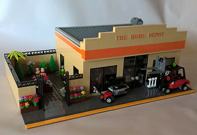 LEGO CITY CUSTOM MODULAR BUILDING - HARDWARE STORE - THE HOME DEPOT