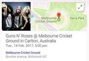 2x DIAMOND RESERVE Guns and Roses Tickets FEB 14 Boronia Knox Area Preview