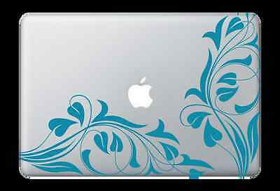 "Vine Design Decal Sticker for Apple Mac Book Air/Pro Dell Laptop 13"" 15"" 17"