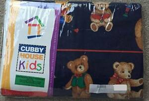 ADAIRS KIDS Cubby House Teddy Bear Single Bed Quilt Cover Set Sunbury Hume Area Preview