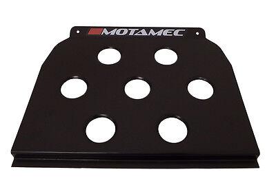 Motamec Universal Black Floor Mounted Driver Heel Rest Foot Plate