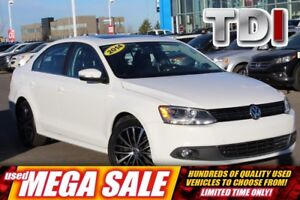 2014 Volkswagen Jetta Highline TDI DSG| Sun| Nav| Heat Leath| Fe