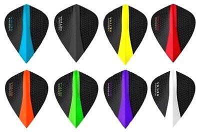 8 New Sets Harrows Retina 100 Micron Kite Dart Flights   24 Flights Total