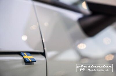 New GENUINE Volvo OEM Rubber Sweden Swedish Flag Tag Emblem Decal Sticker XC40