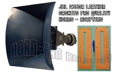 JBL 2360a series 2x Leather gaskets for horns & adapter or 4675 pro quality