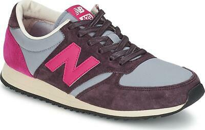 New Balance 420 U420PRPP Plum Running Shoes Brown Gray Off White Fuchsia Size 7