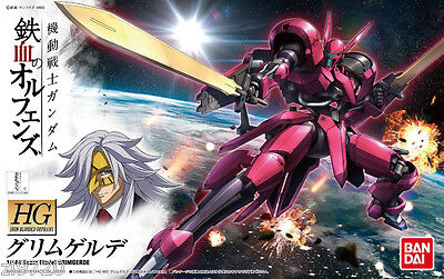 Bandai 1 144 New Gundam Hg Iron Blooded Orphans Grimgerde Mobile Suit Usa Seller