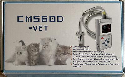 Veterinary Pulse Oximeter Cms60d-vetear Tongue Spo2