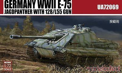 MODELCOLLECT UA72069 WWII German E-75 Jagdpanther w/128/L55 Gun in 1:72